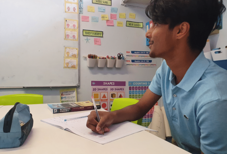student facing whiteboard